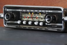 Grundig Weltklang 4000 LMKU - classic car radio from 1966-67 for your Volkswagen Beetle