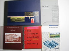 Architecture in The Hague - Lot with five books - 1989/2008