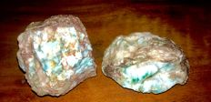 Larimar rough precious lot - 765 gr (2)