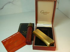 Cartier gold plated lighter