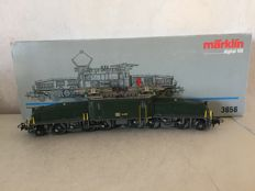 Märklin H0 - 3656 - E-locomotive Be 6/8 III 'Krokodil' (Crocodile) of the SBB