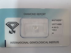 0.50ct Cushion Modified Brilliant Diamond H VS2  Low Reserve Price # 1726