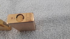 Dupont lighter - gold plated 20 micron - year 1970 + free marksman lighter