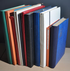 World - Batch in several stock books