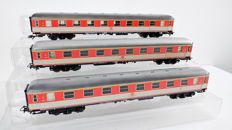 Märklin H0 - 4091 - Three passenger carriages of the DB