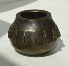 Antique bronze pharmacists mortar-Spain-17th century