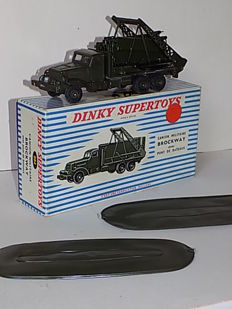 Dinky Supertoys - Schaal 1/48 - Brockway Bridge Layer No.884