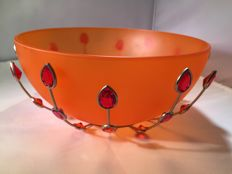 "Swarovski - ""Jewels"" Bowl."