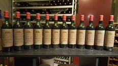 1971 Chateau Grand Barrail Lamarzelle Figeac - Grand Cru Classé - 12 bottles (75cl)