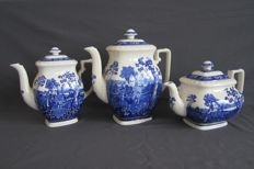 Three beautiful rusticana teapots by Villeroy&Boch