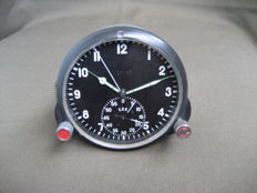 Poljot Chronograph (CHP-60) - Original Russian military aviation clock for the MiG-17 fighter jet (СССР/USSR) - 1960.