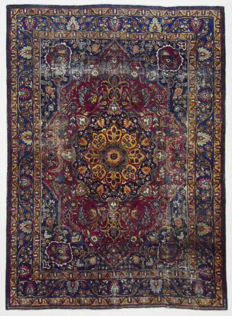 Persian carpet, Antique Khorassan, 330 x 245 cm.