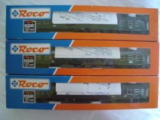Roco H0 - 44680/44681/44682 - Set local wagons (1 motor car, 1 wagon 1st/2nd class, 1 wagon 2nd class)