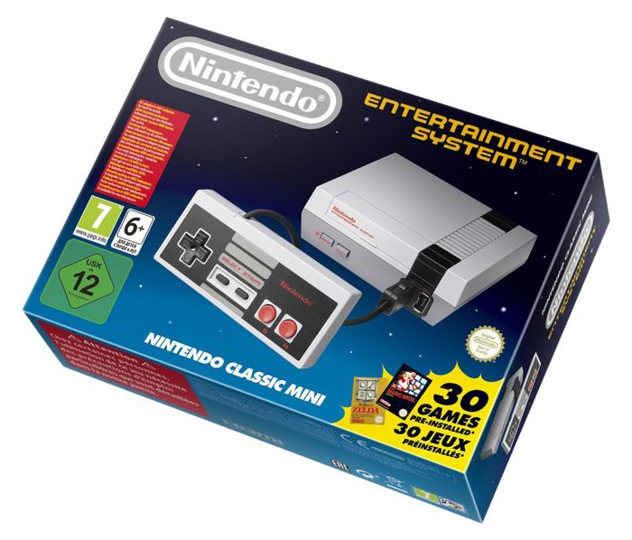 Nintendo Classic Mini: Nintendo Entertainment System, used for sale