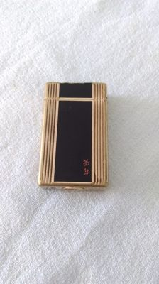 St Dupont lighter - Paris Chinese lacquer // line 1 b s