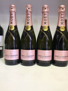 Moet & Chandon Brut Rose, Champagne - 4 bottles (0,75l)
