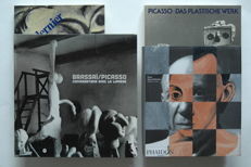 Lot with 4 volumes about Picasso - 1983 / 2002