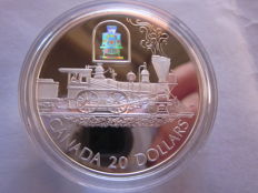 Canada – 20 Dollars 2000 'The Toronto' with hologram – 1 oz silver