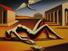 Mark Kostabi - Embracing the Divine