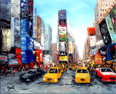 Jan Marti - Cohue sur time square