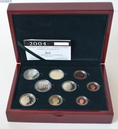 Luxembourg – Year collection 2004 with 2 Euro 'Grand duke Henri'