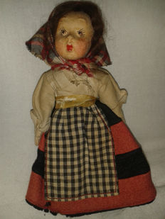 Antique Doll, probably Lenci - Italy