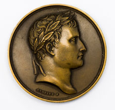 France - 'Napoléon / Légion d'Honneur' medallion by Andrieu - Bronze