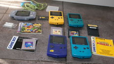Nintendo GameBoy - Game Boy color and Advance Collection with games