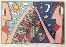 James Rizzi - Love is in the air Limited Edition
