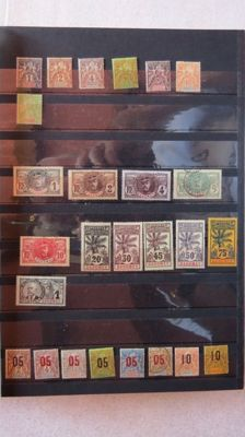 Former French Colonies 1900/1975 - Dahomey - Collection of Stamps