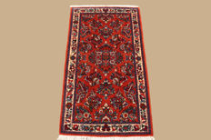 Hand-knotted Persian carpet, Sarouk, approx. 126 x 70 cm