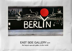 Mary Mackey/Gerhard Lahr - East-Side Gallery GDR 'Berlyn' - 1989
