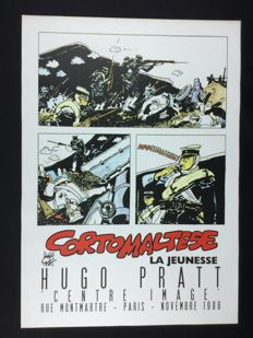 "Pratt, Hugo - advertising poster ""Corto Maltese: La Jeunesse"" (1986)"
