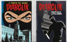 "Diabolik - 2x special albums ""Il Re del Terrore a Carpi"" and ""Colpo alla Little Nemo"" (2000-12)"