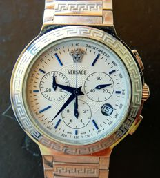 Versace Swiss made – extravagant design – men's chronograph ZLC99