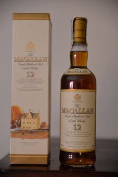 Macallan 12 years old - sherry casks from jerez  700ml - 40%vol