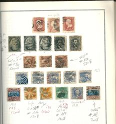 United States 1851 to 1980 – Collection of stamps