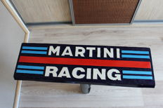MARTINI RACING - Unique Big logo carved in wood - 61 x 19 cm