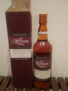 Arran Premier Cru Bourgogne cask finish