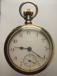 Elgin Watch Company — Men's pocket watch — 1901-1949