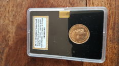 The Netherlands – 10 guilder 1875 Willem III – gold