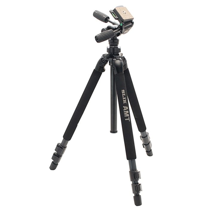 Slik Pro 580DX tripod with 3-way head - New (1548)