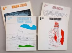 Ivan Leonidov / Corbusier et al. - Lot with 4 IAUS (Institute for Architecture and Urban Studies) publications -1981 / 1982