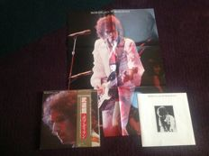 4 Bob Dylan lp's and 1  The Band.