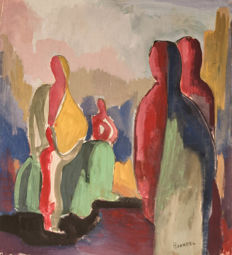 Klaas Boonstra - Abstract figures