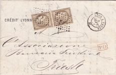 France 1849/1927 - Ceres , Emperor Napoleon and Merson - a little selection and two covers