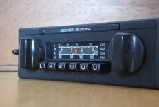 Becker Europa 772 classic car radio with FM - 1980's