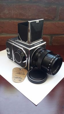 """Salyute S ""- Without a reserve price !  Very Rare USSR-1974's. high-class refliex photocamera "" Salute S "" with accessories ."