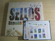 Spain 2005/2012 – Book stamps Spain and Andorra 2012 and stamps in Spain 2005 complete