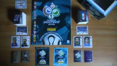 Panini - World Cup 2006 Germany - Empty Album + complete set of thumbnails + 2 covers + empty box.